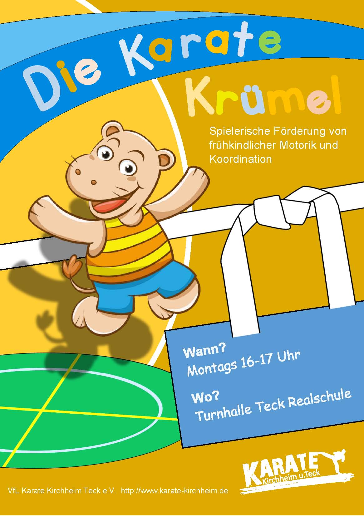 Karate Kruemel Flyer
